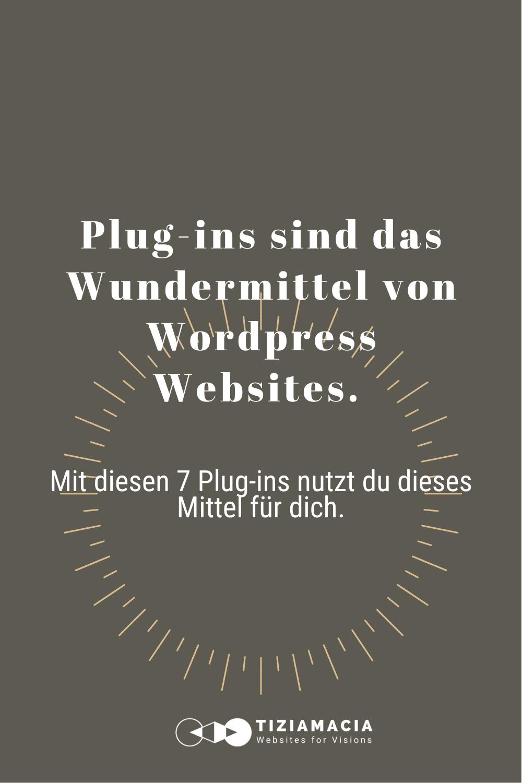 Wordpress Plugins die du unbedingt brauchst