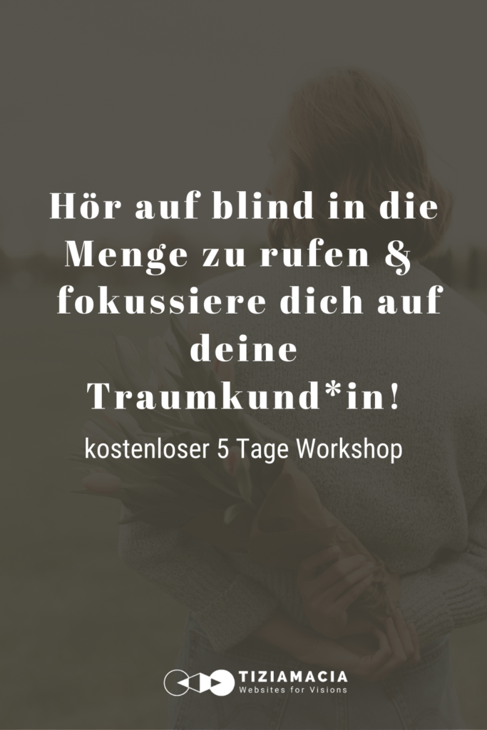 Traumkund*in kennenlernen kostenloser Workshop